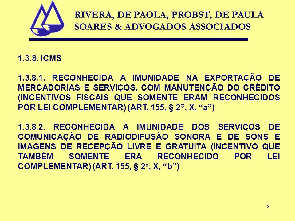 8 1.3.8. ICMS 1.3.8.1.