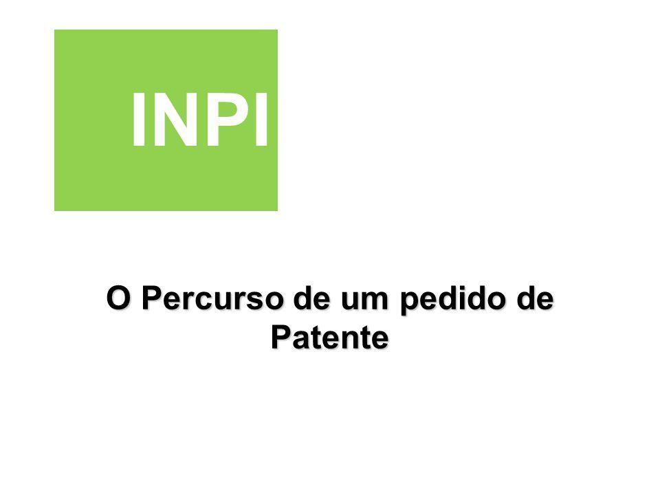 O Percurso de um pedido de Patente INPI