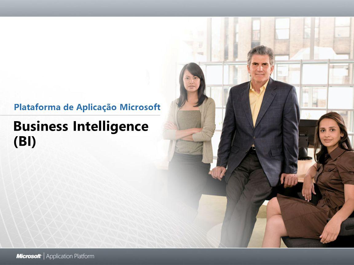 Business Intelligence (BI) Plataforma de Aplicação Microsoft