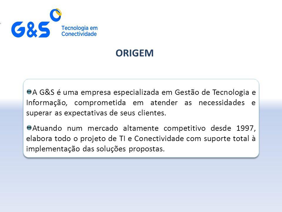 A G&S é uma empresa especializada em Gestão de Tecnologia e Informação, comprometida em atender as necessidades e superar as expectativas de seus clientes.
