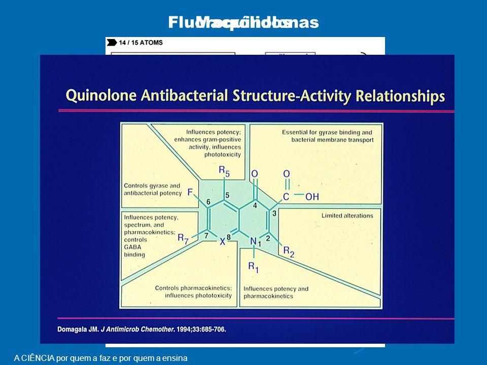 A CIÊNCIA por quem a faz e por quem a ensina FluoroquinolonasMacrólidos