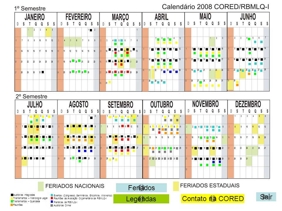 Voltar Sair TREINAMENTO NA ÁREA DA QUALIDADE PBE – Refrigeradores, Condicionadores de ar, Maquinas de Lavar, Aquecedores de ar, Lâmpadas FLC e Aparelhos de som (05/05/2008) à (07/05/2008) Participantes: IMEQ-MT, SUPER-GO, AEM-MS, IPEM-TO e IPEM-RO, sendo 2 (dois) técnicos de cada Órgão Metrológico Contato: 21-2563-2927 (Carlos Roberto) LOCAL DO TREINAMENTO Instituto de Metrologia e Qualidade do Estado do Mato Grosso IMEQ-MT