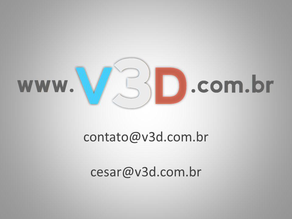 contato@v3d.com.br cesar@v3d.com.br