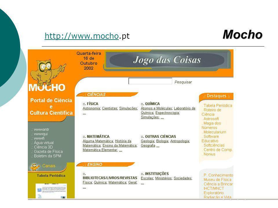 Mocho http://www.mochohttp://www.mocho.pt