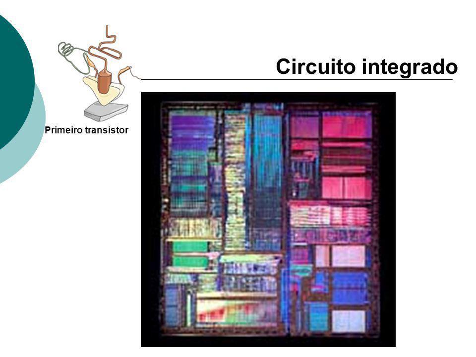 Circuito integrado Primeiro transistor