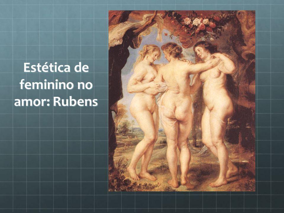 Estética de feminino no amor: Rubens