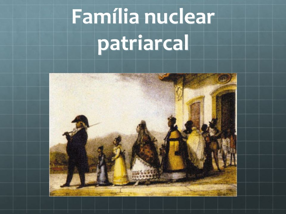 Família nuclear patriarcal