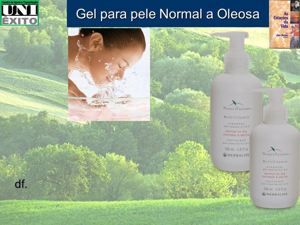 df. Gel para pele Normal a Oleosa
