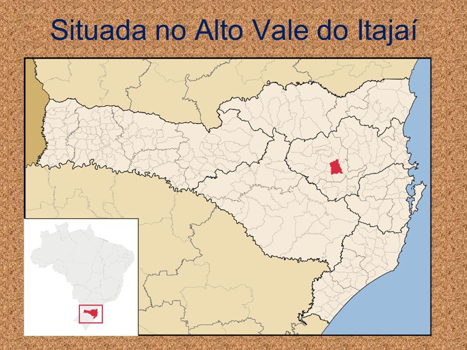 Situada no Alto Vale do Itajaí