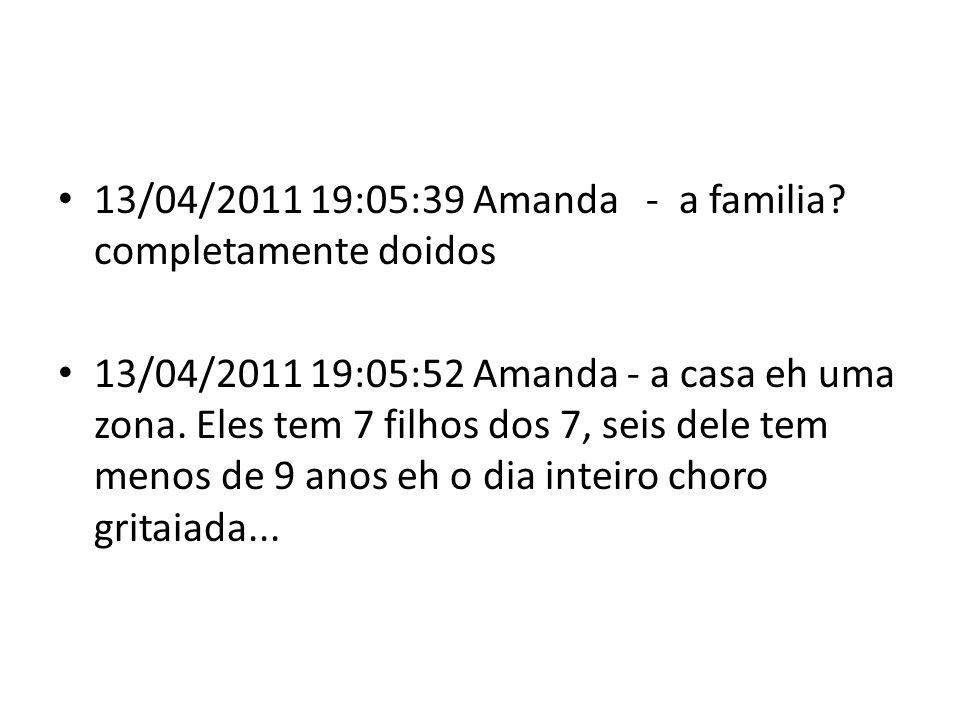 13/04/2011 19:53:46 Amanda - vc sabe o que eh taro? preciso explicar na aula oq eh isso amanha