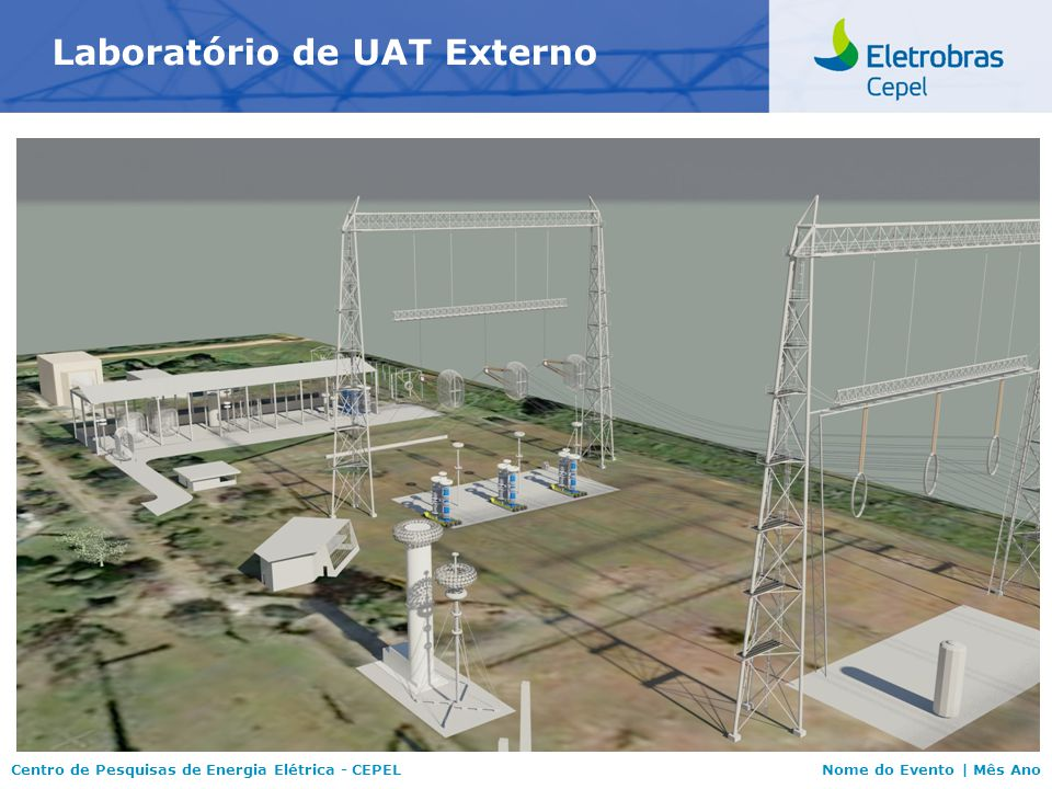 Centro de Pesquisas de Energia Elétrica - CEPELNome do Evento   Mês Ano Obrigado Centro de Pesquisas de Energia Elétrica
