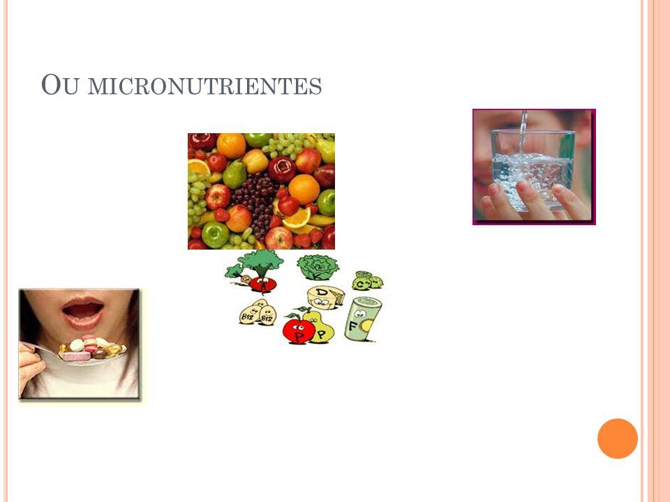 O U MICRONUTRIENTES