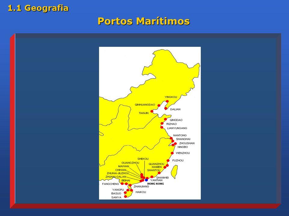 Portos Marítimos 1.1 Geografia