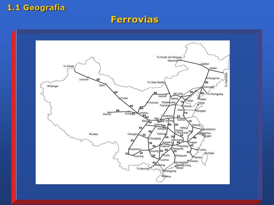 Ferrovias Ferrovias 1.1 Geografia