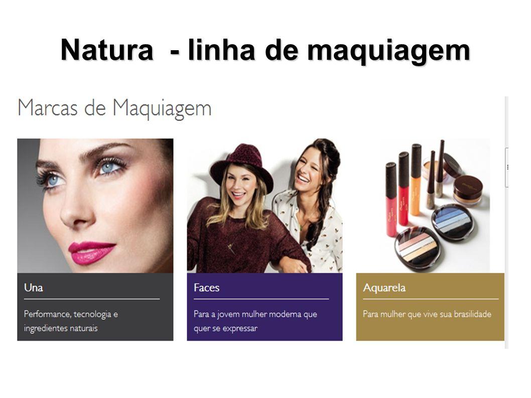 Natura - linha de maquiagem