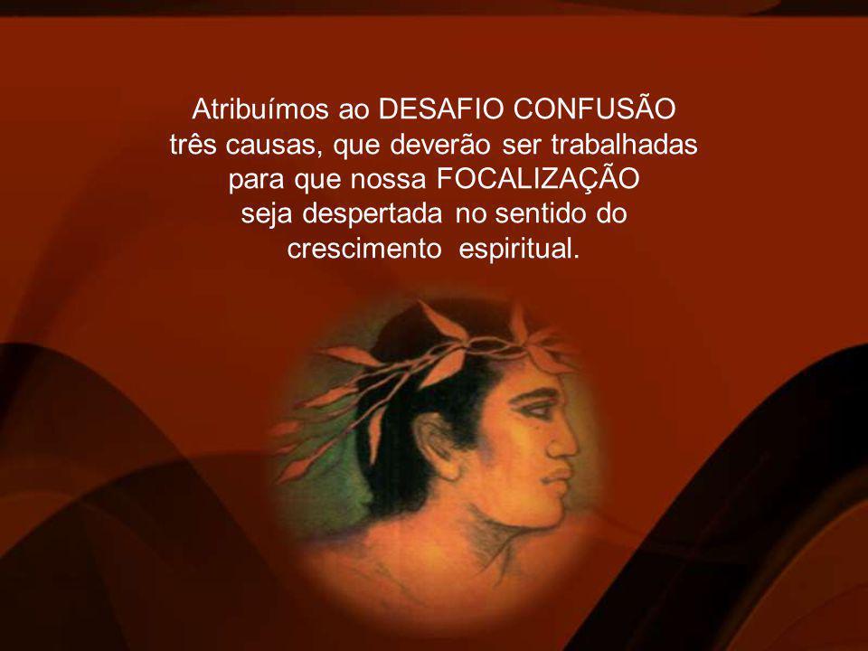 A IGNORÂNCIA, DESAFIO do primeiro PRINCÍPIO – IKE – que tem como TALENTO a VISÃO, no sentido de clareamento Interior.