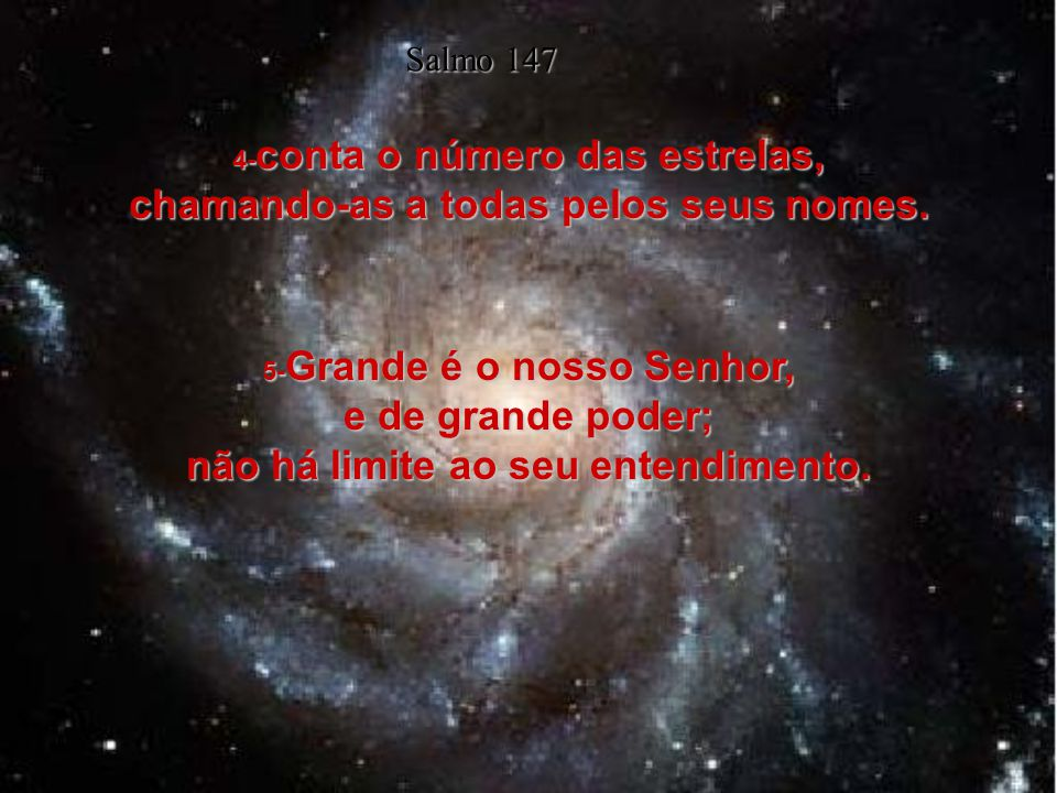 4- conta o número das estrelas, chamando-as a todas pelos seus nomes.