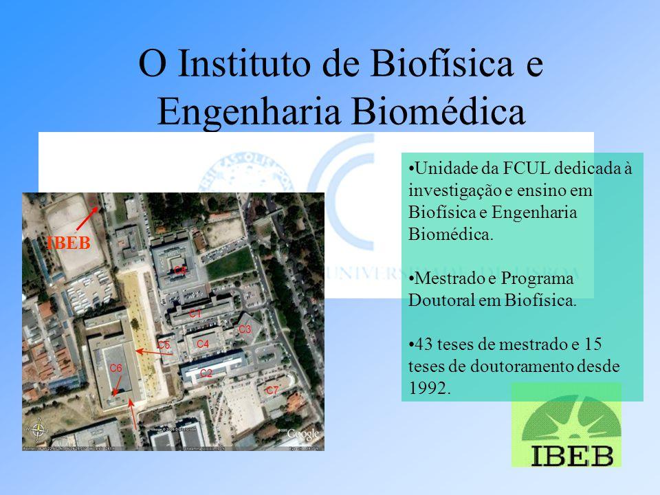 O Instituto de Biofísica e Engenharia Biomédica Atendimento: 2ª a 6ª das 9h30-12h30 e das 13h30-16h.
