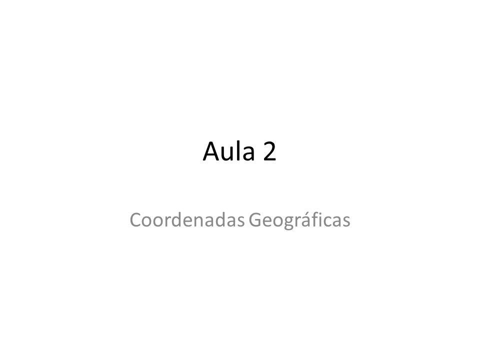Aula 2 Coordenadas Geográficas
