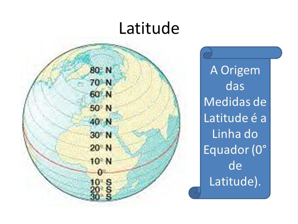 Projeção de Mercator Nesta projeção os meridianos e os paralelos são linhas retas que se cortam em ângulos retos.