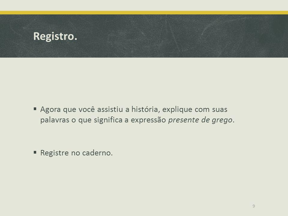 Registro.