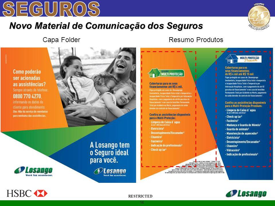 14 RESTRICTED Novo Material de Comunicação dos Seguros Capa FolderResumo Produtos