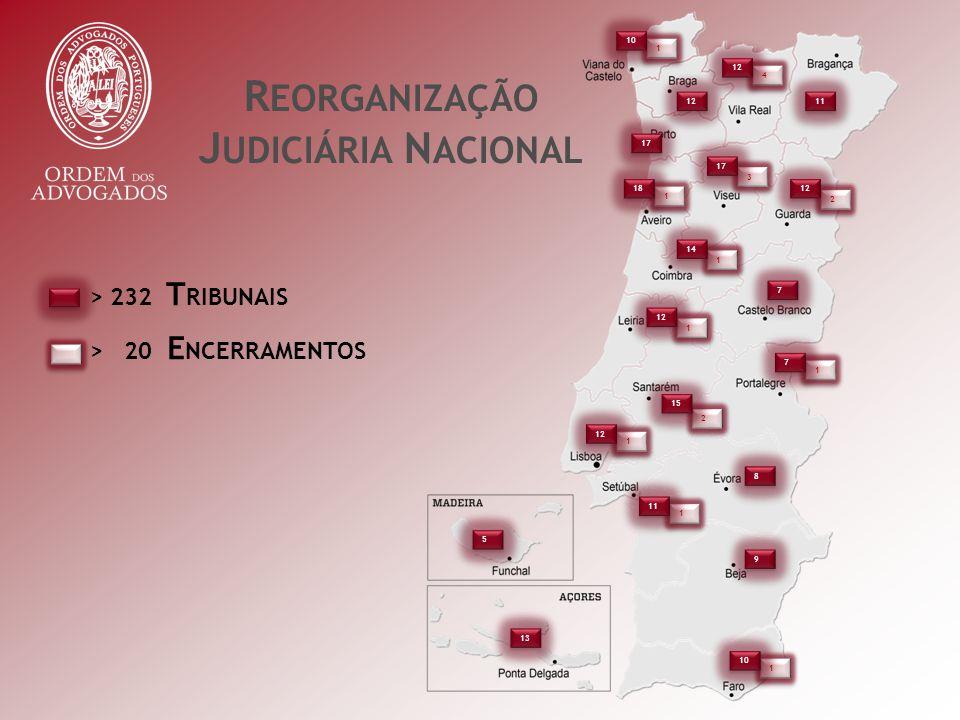 R EORGANIZAÇÃO J UDICIÁRIA N ACIONAL > 232 T RIBUNAIS > 20 E NCERRAMENTOS 1 1 1 1 1 1 1 1 4 4 3 3 2 2 1 1 2 2 1 1 1 1 1 1 10 12 17 18 12 11 17 12 7 7 14 15 7 7 8 8 11 9 9 10 5 5 13
