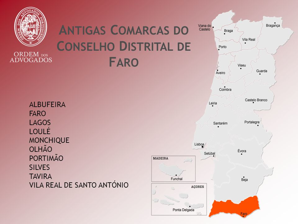 TOTAL DE HABITANTES POR CONCELHO C OMARCA DE F ARO TOTAL DE HABITANTES NA COMARCA 451.006