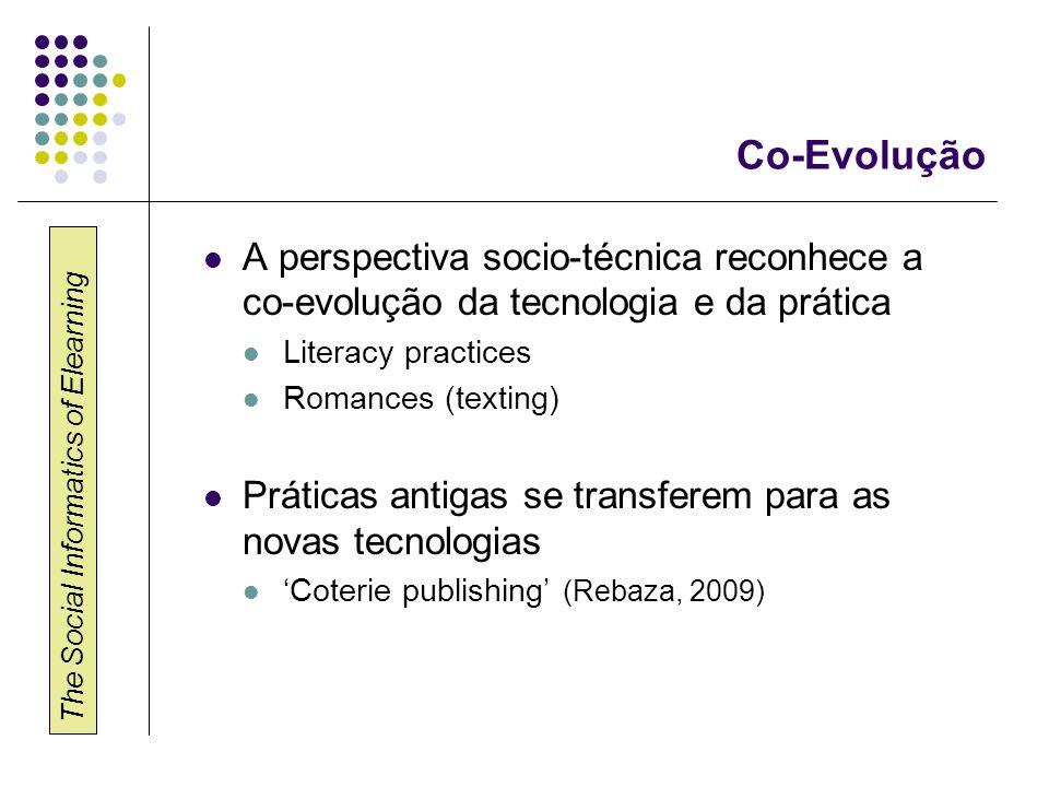 Informática Social do E- Learning