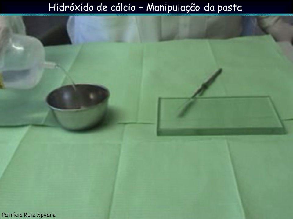 Hidróxido de cálcio – Manipulação da pasta Patrícia Ruiz Spyere