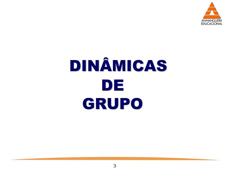 3 DINÂMICAS DINÂMICAS DE DE GRUPO GRUPO