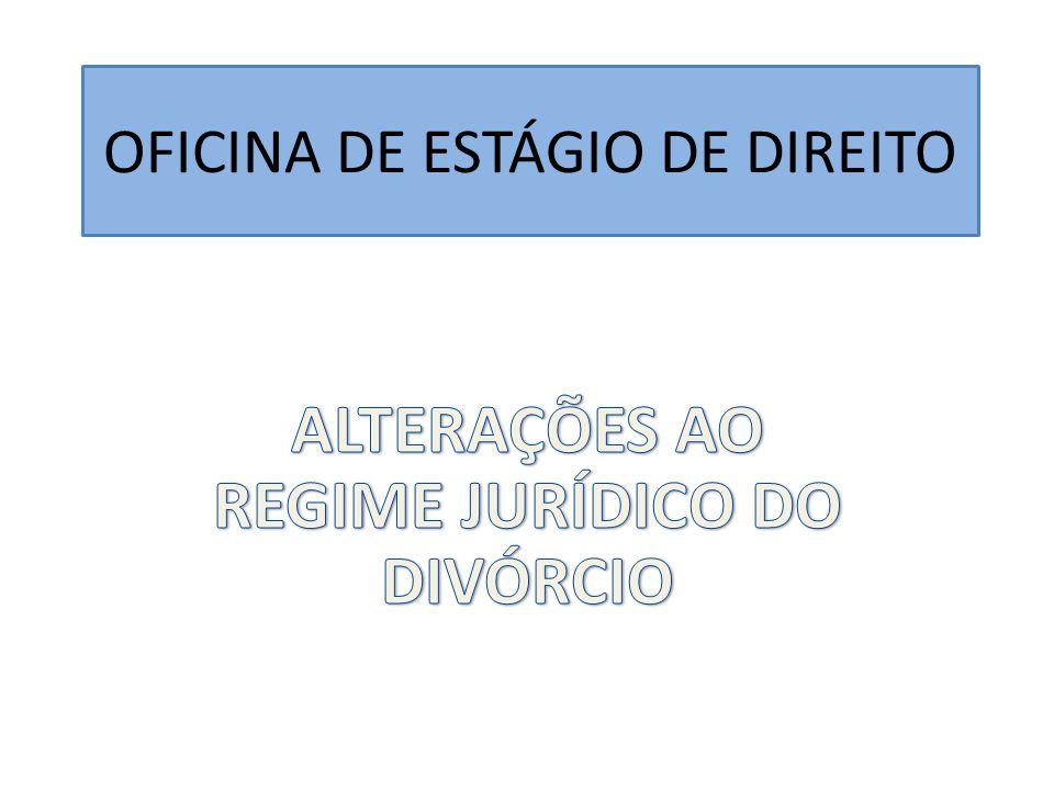 OFICINA DE ESTÁGIO DE DIREITO