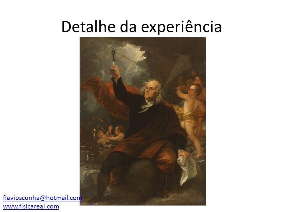 Detalhe da experiência flavioscunha@hotmail.com www.fisicareal.com