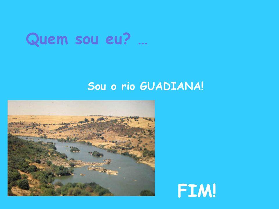 Quem sou eu? … Sou o rio GUADIANA! FIM!