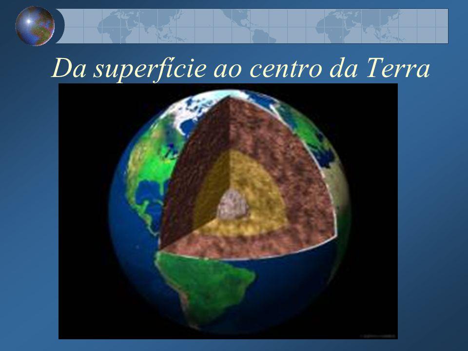 Da superfície ao centro da Terra