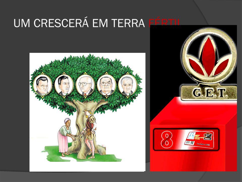 UM CRESCERÁ EM TERRA FÉRTIL..