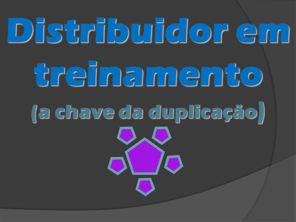 Distribuidor em treinamento (a chave da duplicação )