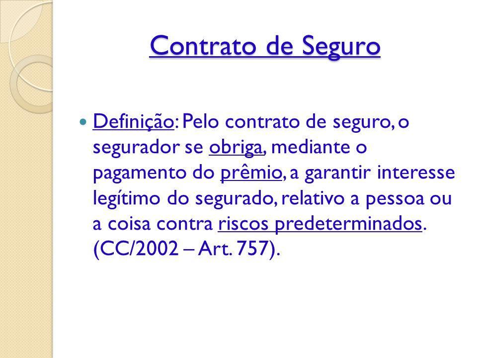 Contrato de Seguro Informação: ◦ Informação de boa qualidade para responder o que uma seguradora necessita não está livremente disponível na sociedade; ◦ Do contrário, o seguro poderia ser desnecessário.