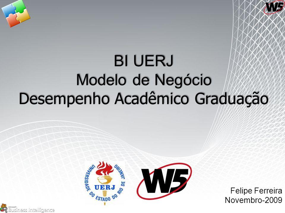 BI UERJ Modelo de Negócio Desempenho Acadêmico Graduação Felipe Ferreira Novembro-2009