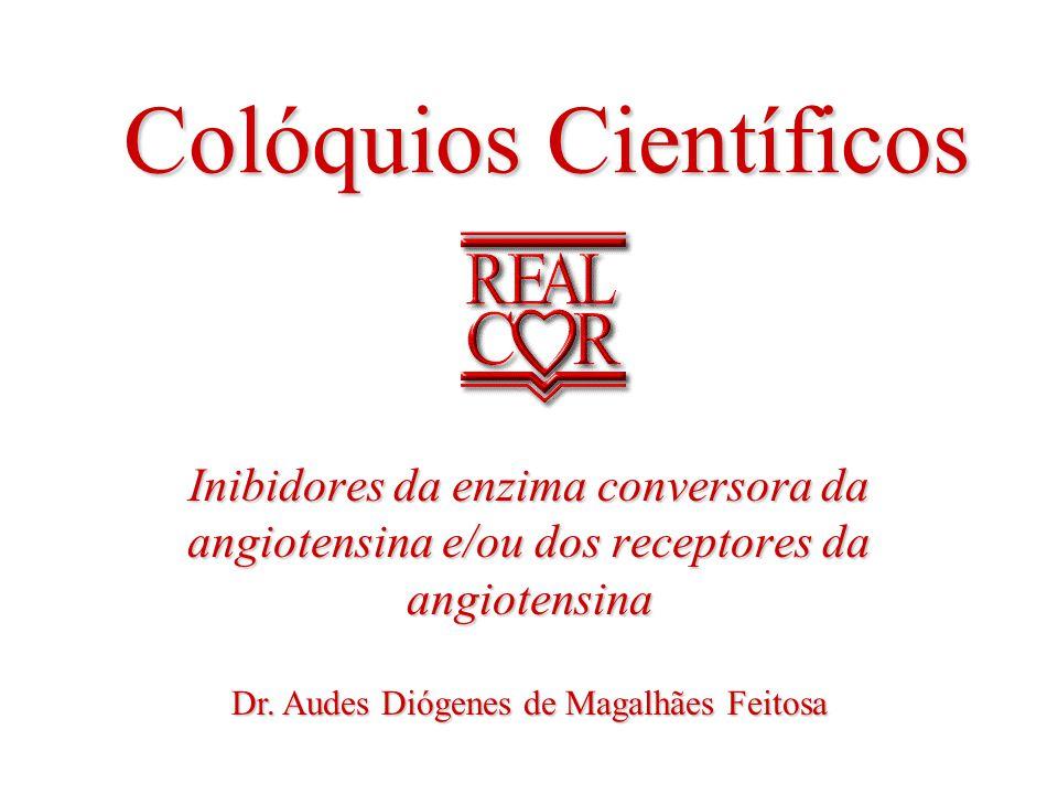 ad Colóquios Científicos Inibidores da enzima conversora da angiotensina e/ou dos receptores da angiotensina Dr.