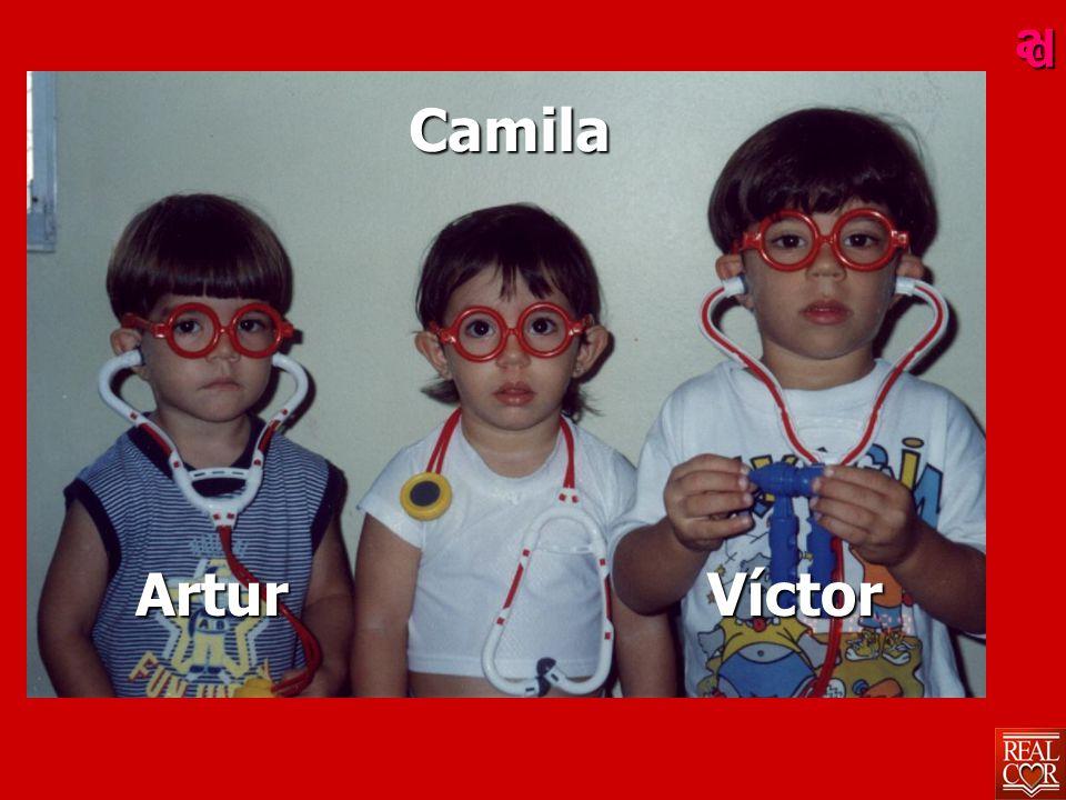 ad Camila Artur Víctor