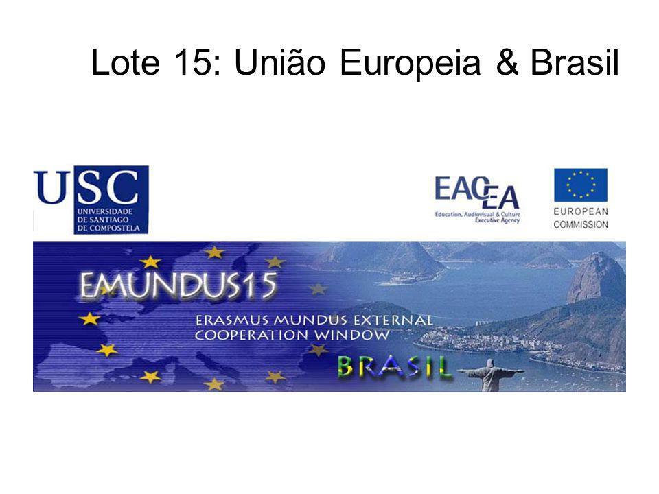 Lote 15: União Europeia & Brasil