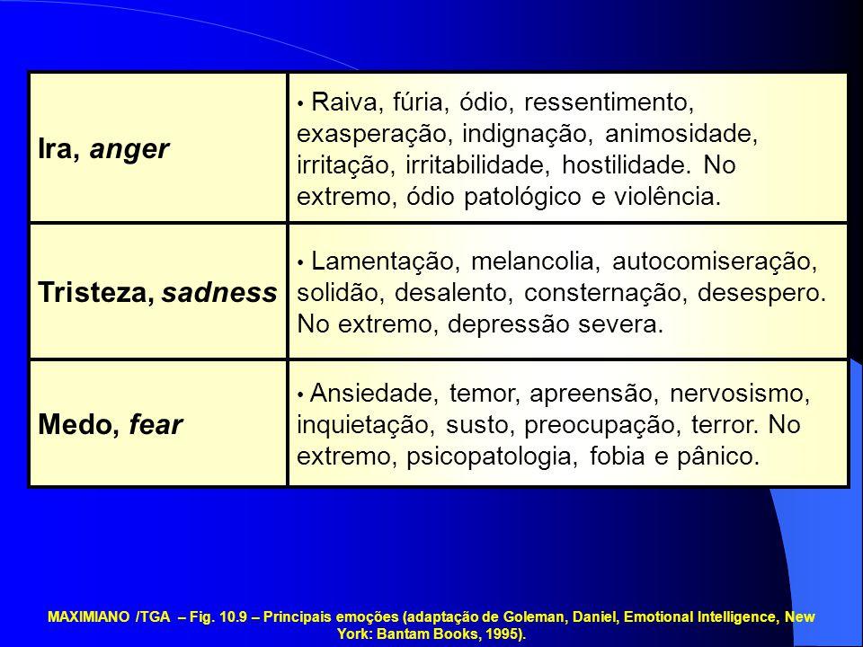 Ansiedade, temor, apreensão, nervosismo, inquietação, susto, preocupação, terror. No extremo, psicopatologia, fobia e pânico. Lamentação, melancolia,