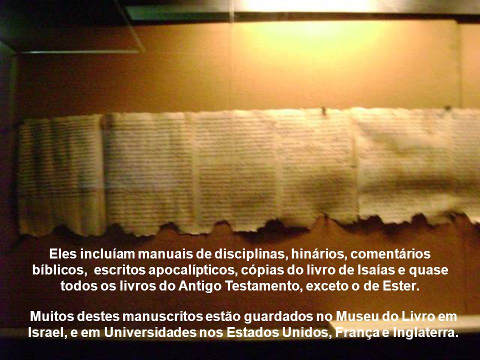 Os manuscritos do Mar Morto foram preservados por quase dois mil anos e são considerados o achado do século