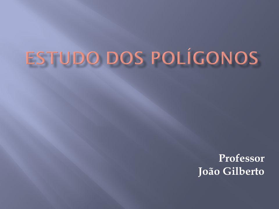 Polígono é uma figura geométrica cuja palavra é proveniente do grego que quer dizer: poli(muitos) + gonos (ângulos).