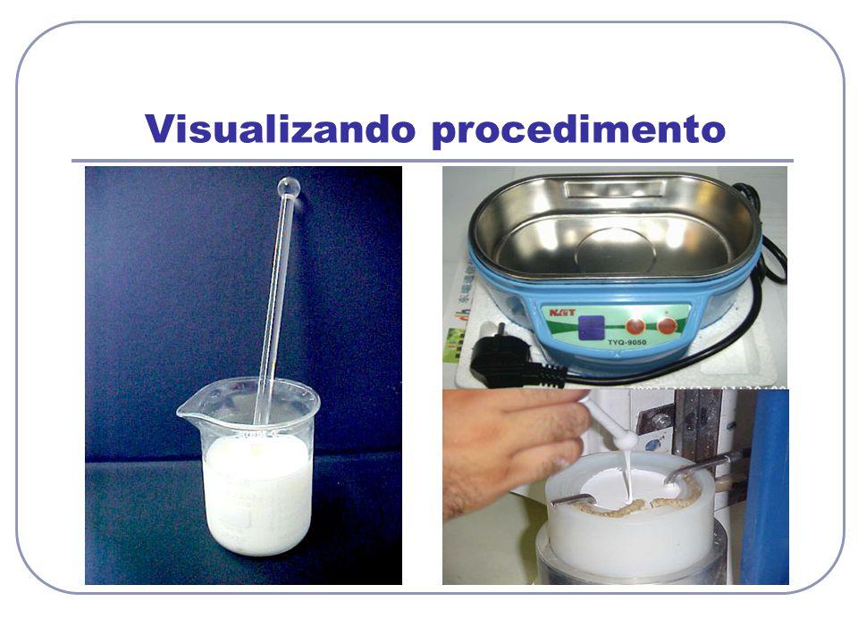 Visualizando procedimento
