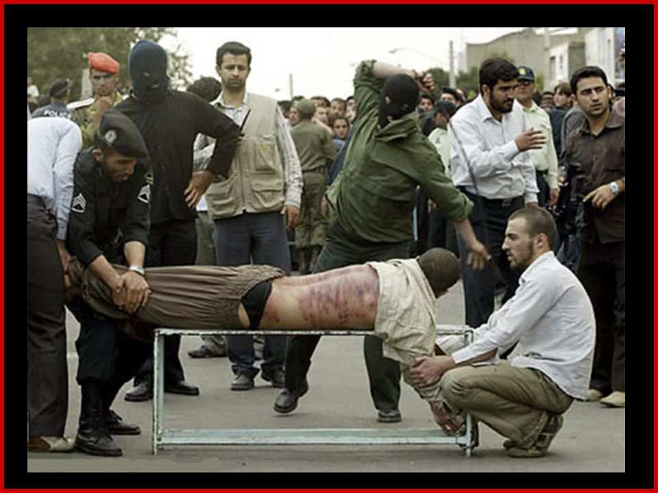 A justiça Iraniana: