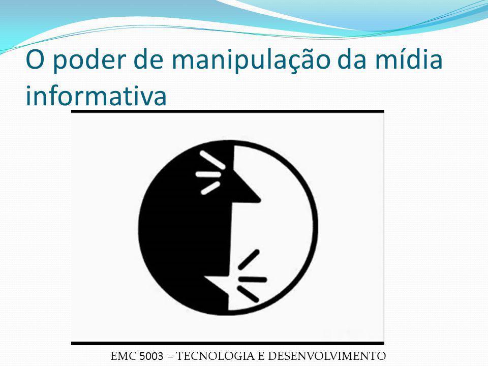 O poder de manipulação da mídia informativa EMC 5003 – TECNOLOGIA E DESENVOLVIMENTO
