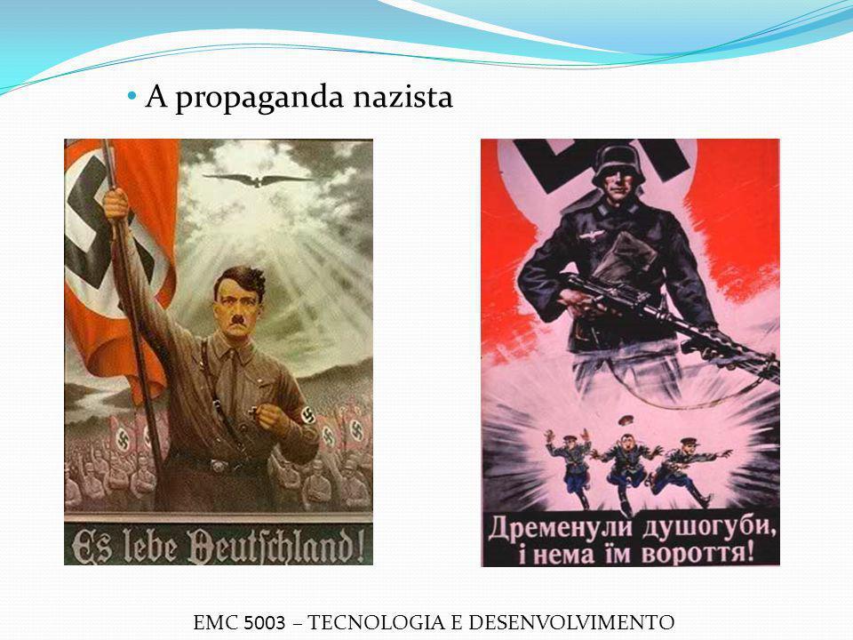A propaganda nazista EMC 5003 – TECNOLOGIA E DESENVOLVIMENTO