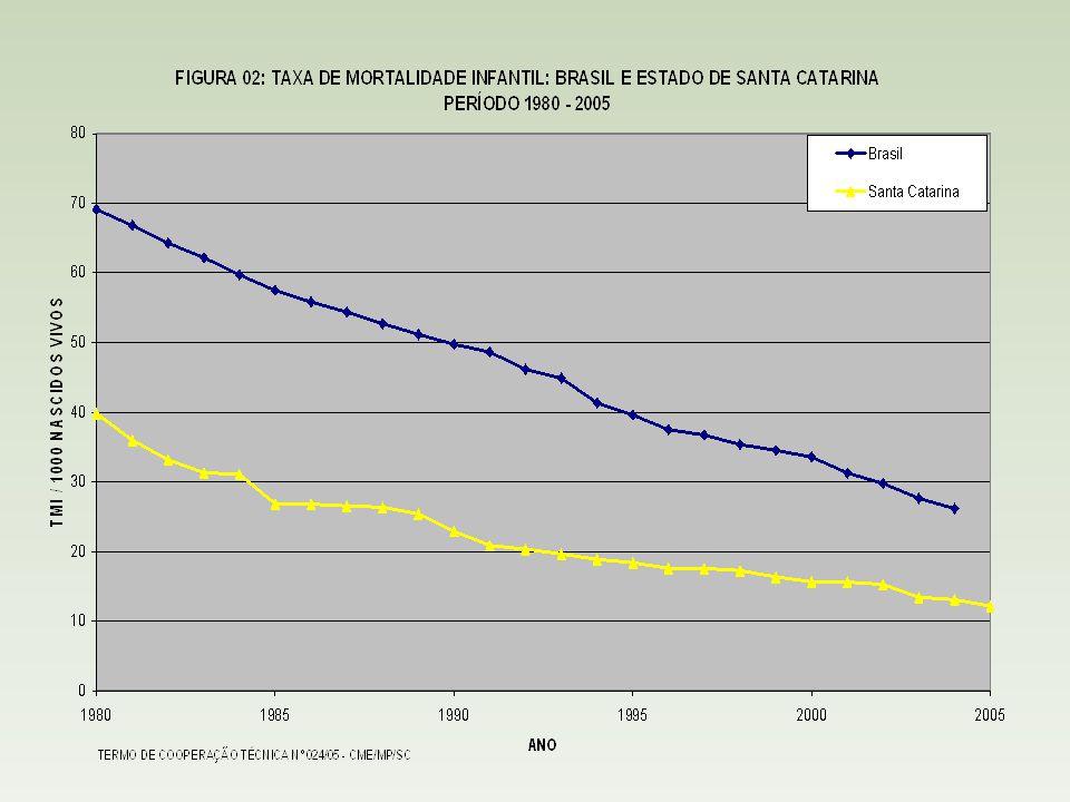 População/Índice de Atendimento Rede de Abastecimento de Água Rede Coletora de Esgoto População Total (hab)5.409.950 População Urbana (hab)4.145.772 População Total Atendida (hab) 4.391.465524.061 População Urbana Atendida (hab) 3.978.150492.387 Indíce de Atendimento - Total (%) 81,179,69 Índide de Atendimento – Urbana (%) 95,9611,88 Santa Catarina Fonte: IBGE População Atendida e Índice de Atendimento em Santa Catarina - 2005